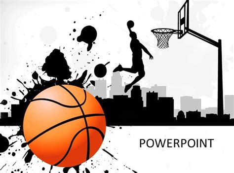 Basketball Powerpoint Template Download Free Powerpoint Basketball Powerpoint Presentation
