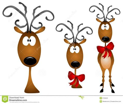 Reindeer cartoon reindeer stock illustrations vectors amp clipart
