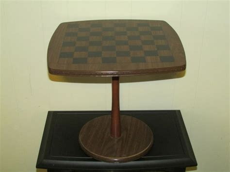 modern chess table vintage 1960 s mid century danish modern chess checkers