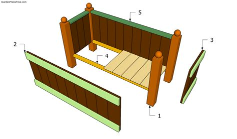 wooden planter plans jim choice plans wooden planters for garden