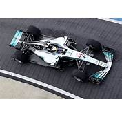 Mercedes Car Formula One Gets Look At Lewis Hamiltons