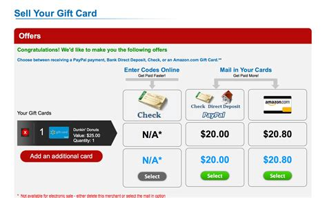 Paypal Gift Card Exchange - exchange gift cards for cash paypal infocard co