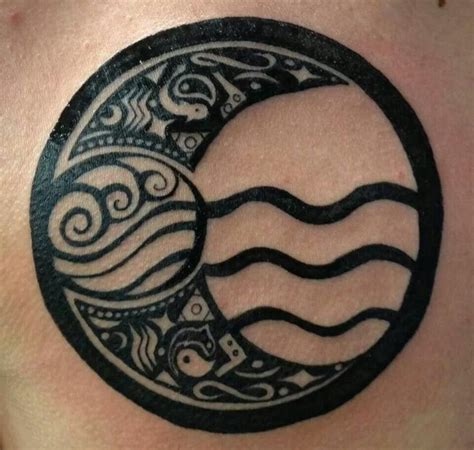 tribal water tattoo best 25 avatar ideas on avatar atla