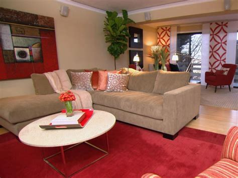 tan rooms red and tan living room ideas