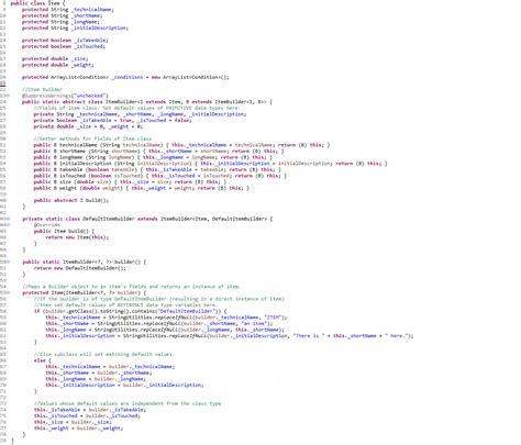 java pattern klasse java builder pattern mit subclassing 220 bersetzungen und