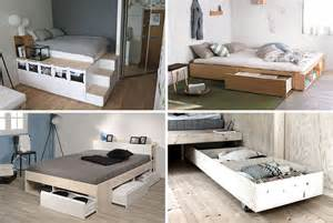 bed storage ideas 9 ideas for the bed storage contemporist