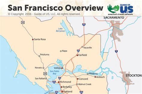 san francisco map guide san francisco california maps california