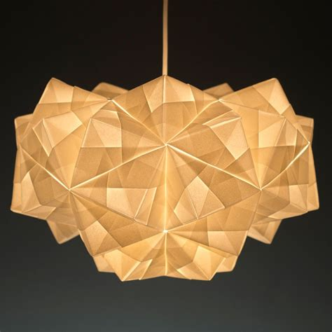 Origami Light Fixture - modern lighting inspired by origami