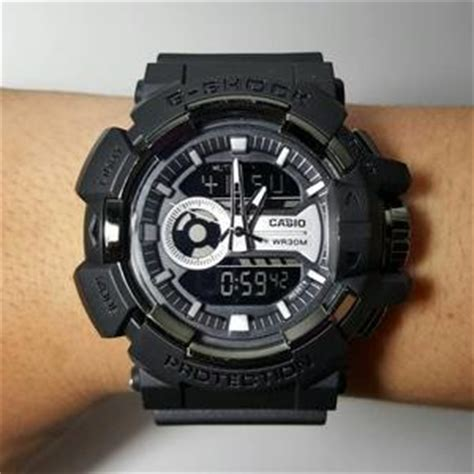 G Shock Ga 400 Rosegold Black Rubber Autolight On harga jam tangan casio g shock ga 400 gshock ga400 hitam