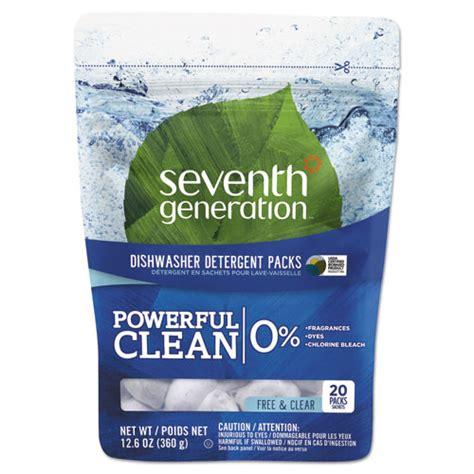 seventh generation 174 dishwasher detergent