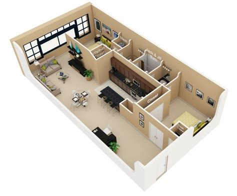 3d home design 20 50 50 3d floor plans lay out designs for 2 bedroom house or