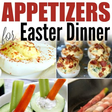 16 and easy easter dessert recipes that everyone - Easy Appetizers For Dinner