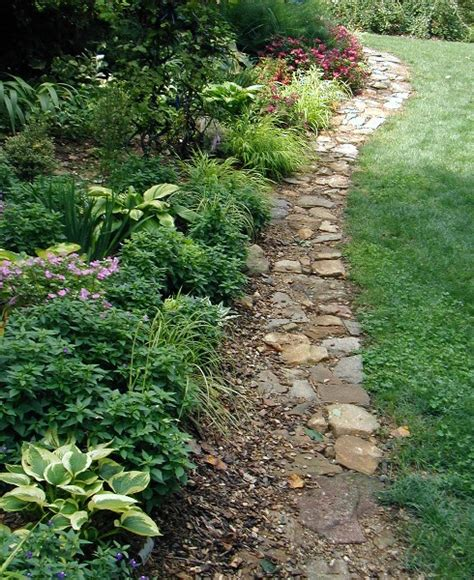 Ideas For Garden Bed Edging Rock Edging For Gardens