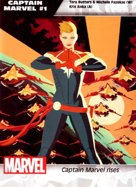 captain marvel marvel s 45 all new all different comics that start