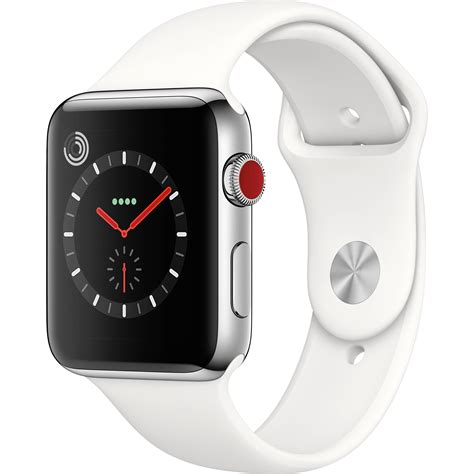 New Apple Stainless 3 Link I Wacth Series 1 2 3 2 apple series 3 42mm smartwatch mqk82ll a b h photo
