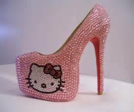 Hellokitty Bedroom Cute Hello Kitty High Heels Shoes For Girls Dashingamrit