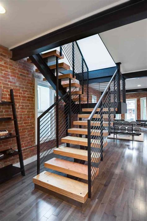 modern house stairs design impressive modern stairs wooden railing designs interior designs aprar