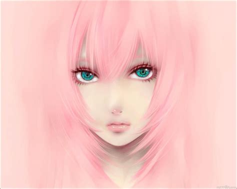 wallpaper cute eyes anime red girl wallpaper
