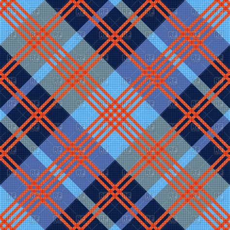 vector plaid pattern free diagonal seamless pattern as tartan plaid vector image