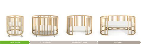 Oval Cribs For Babies by Stokke 174 Sleepi Mini Nursery Stokke