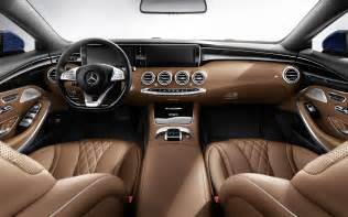 Mercedes S Class Interior Photos Mercedes S Class Coupe Pictures Hd Wallpapers