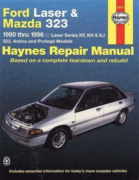 auto repair manual free download 1990 mazda b series parental controls ford laser mazda 323 1990 1996 haynes repair manual sagin workshop car manuals repair books
