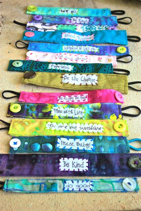 fabric crafts for children 17 best ideas about fabric bracelets on lace