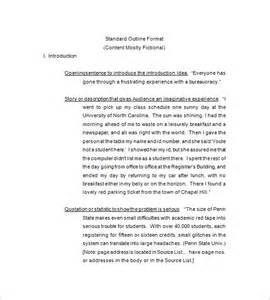 pics photos standard essay outline format
