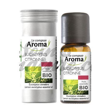 le comptoir aroma le comptoir aroma essential lemon eucalyptus organic 10ml