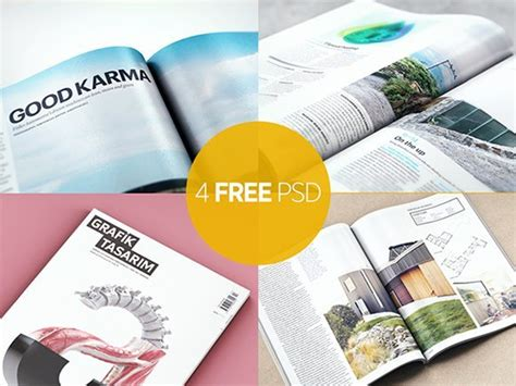 free download layout magazine psd 20 free magazine mockup psds to use in your future designs