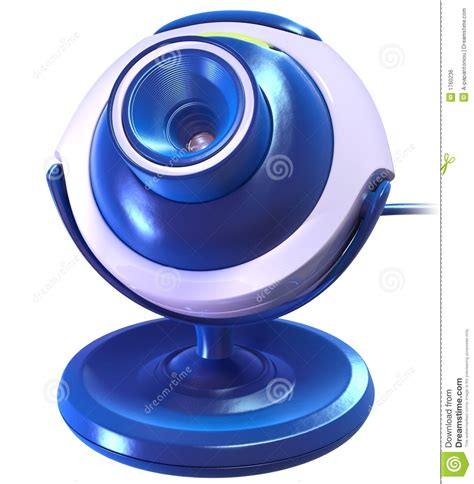 Webcame M Tech Pc 6 Lu 1 3 Mpx Versi Vga blue cyber royalty free stock image image 1760236