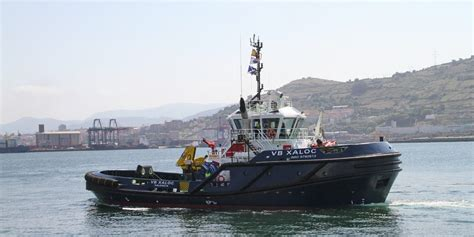 tugboat yards delivery of the tugboat of latest generation vb xaloc