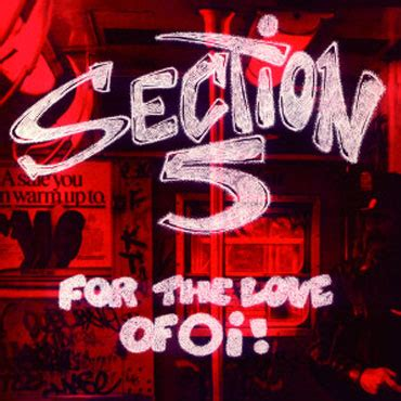 the love section section 5 for the love of oi lp spanish edition