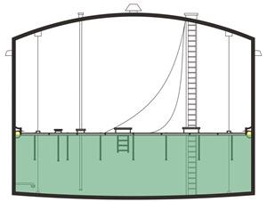 Main Street Wall Creations Jumbo Stickers 28 internal floating roof tank design internal