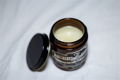 Pomade Iron Society the iron society original hold pomade review the pomp