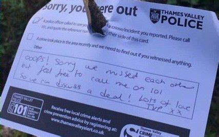 police dig  cannabis plants  leave note  grower