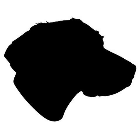 dog head silhouette clip art dog head silhouette bing images