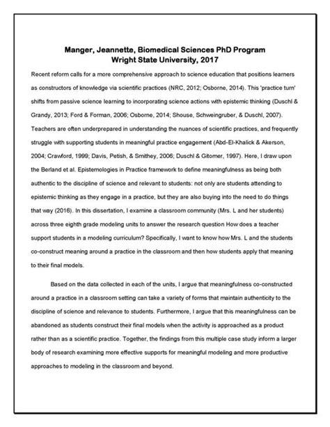 biomedical science dissertation biomedical sciences phd program dissertation defense