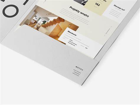 branding interior design motifo interior design architect branding website on behance