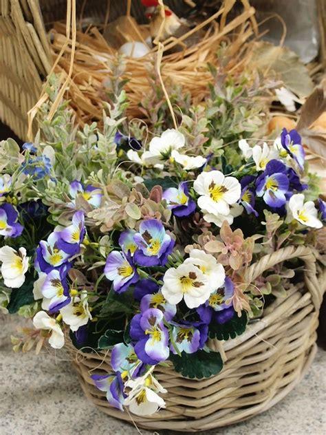 fiori da copiare fiori artificiali per composizioni decorative idee