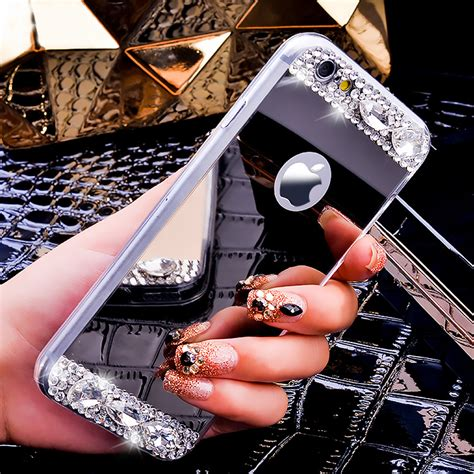 Lovebay Soft Fashion Bling Glitter Iphone 6 6s fashion bling glitter mirror for iphone 6 6s for