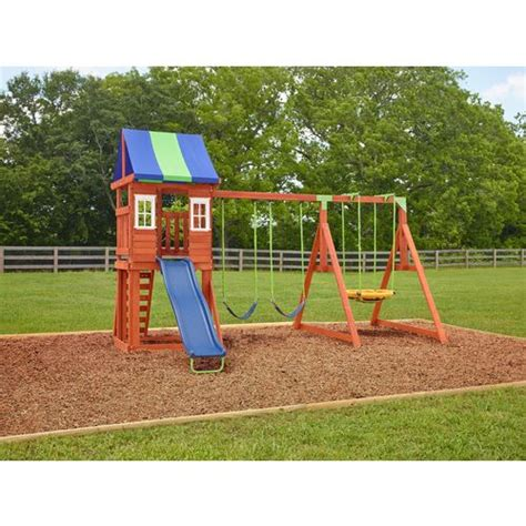 swing set agame west fork wooden swing set academy