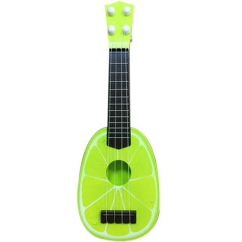 ukulele gitar mainan gambar buah buahan multi color jakartanotebook