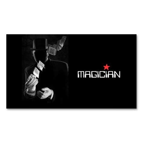 Magician Business Card Template by 196 Best Images About Magician Business Cards On