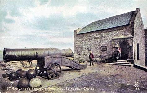 siege c15 postcard by alex a inglis edinburgh castle st margaret