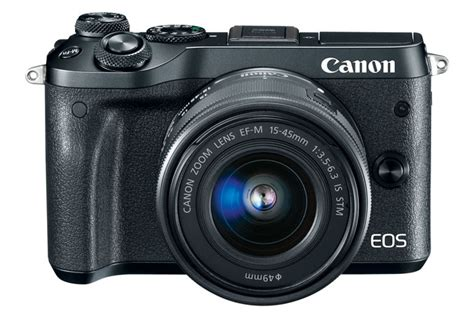Best Seller Canon Eos M6 Canon M6 Kit 15 45 Is Stm Paket 32gb Garans eos m6 ef m 15 45mm f 3 5 6 3 is stm kit canon store