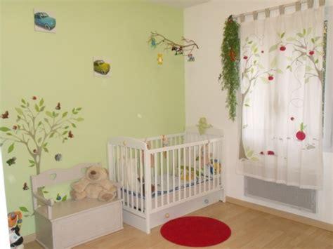 chambre enfant vert chambre gar 231 on vert tout doux 14 photos daurelie17