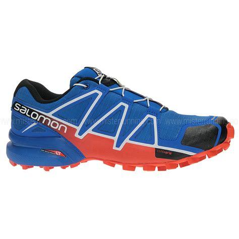 Adidas Salomon Blue salomon speedcross 4 s trail running shoes blue