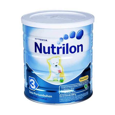 Formula Nutrilon 3 jual weekend deals promo nutrilon 3 madu formula tin 800gr harga kualitas