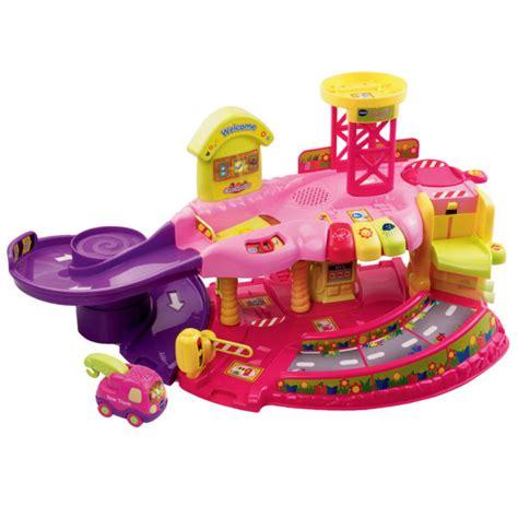 vtech garage vtech toot toot drivers garage pink toys thehut